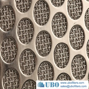 sintered Perforated filter