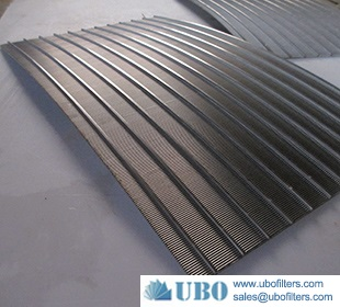 Welded wire sieve bend screen
